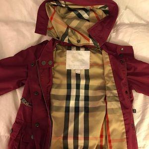 Burberry Jackets & Coats - Burberry rain jacket